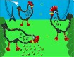 """Screenshot of """"Three French Hens"""""""