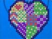 """Screenshot of """"Patchwork Heart"""""""