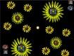"Screenshot of ""Sunflower Bursts"""