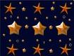 """Screenshot of """"Orange Stars and Starfish"""""""