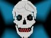 """Screenshot of """"Skull - by Steve"""""""