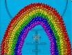 """Screenshot of """"Skittle Rainbow"""""""