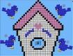 "Screenshot of ""Birdhouse with Bluebirds"""
