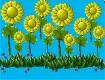 "Screenshot of ""Spiders Dance Among The Sunflowers"""