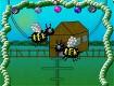 "Screenshot of ""buzzing around the garden"""